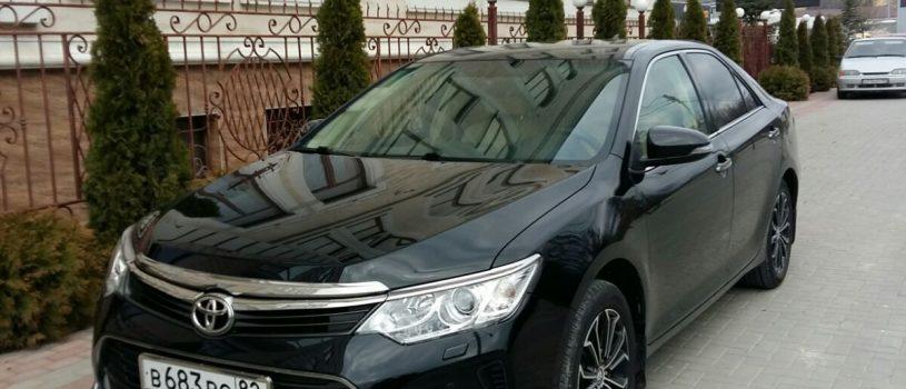 VIP перевозки на Toyota Camry